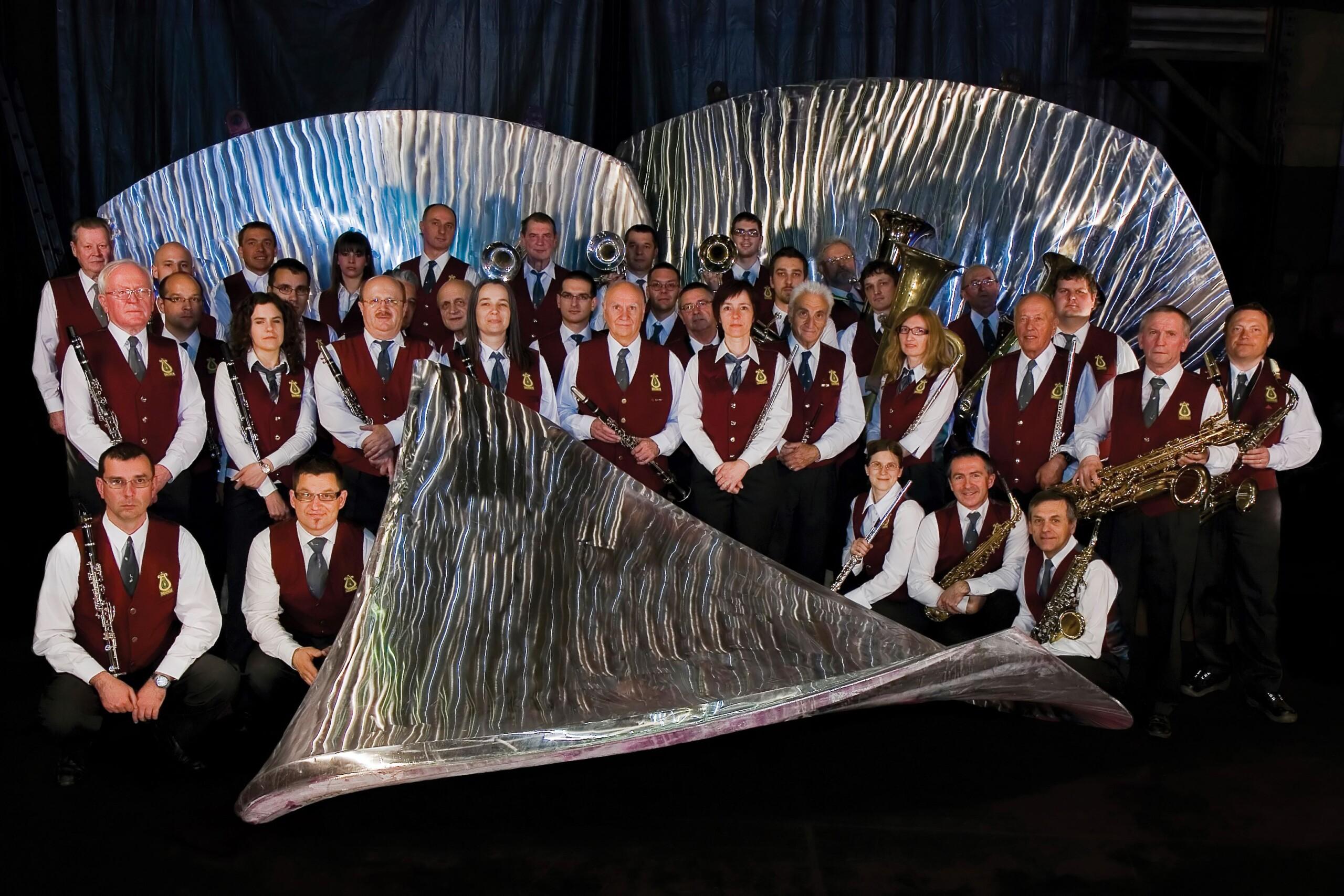Pihalni orkester Litostroj leta 2010