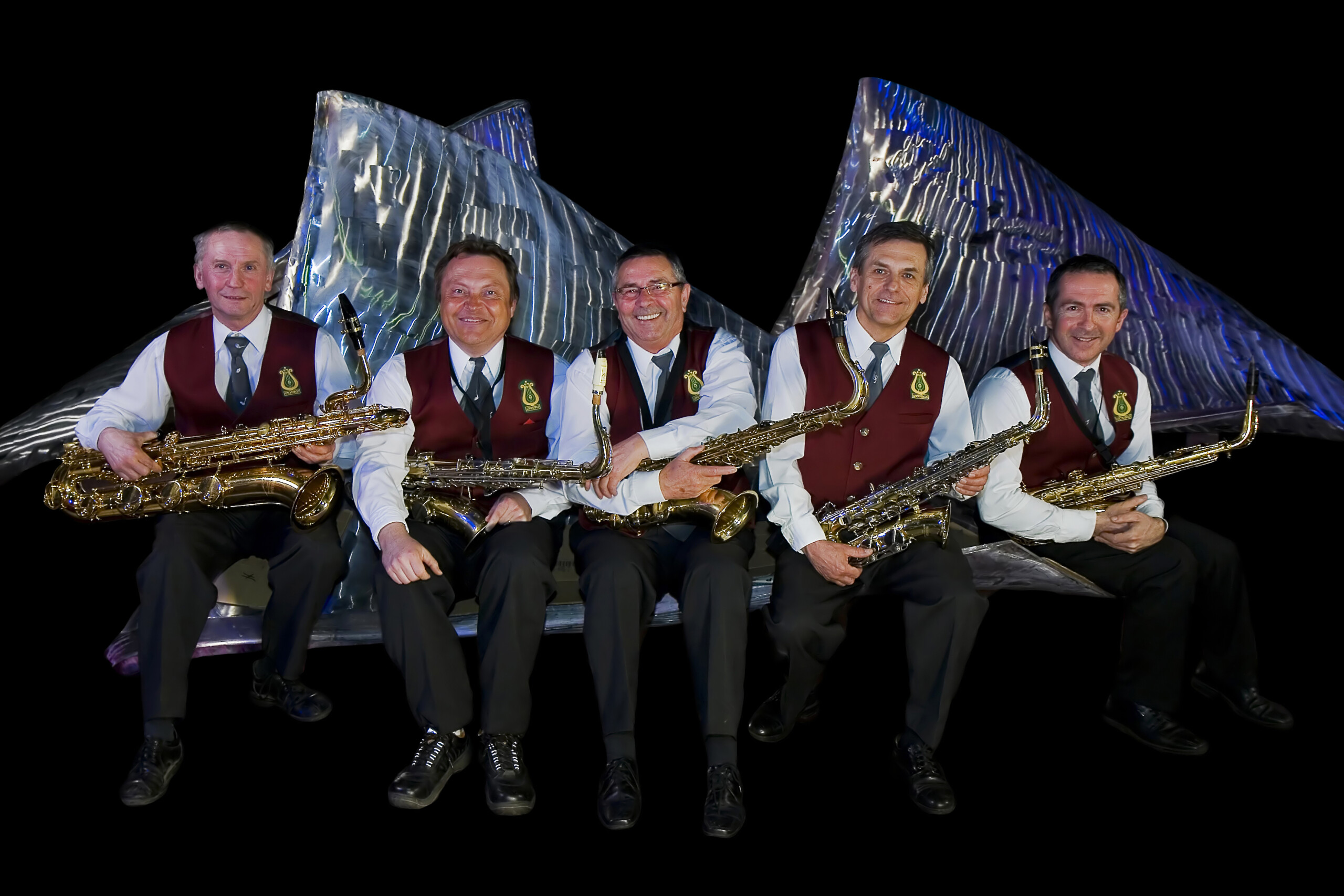 Sekcija saksofonov leta 2010