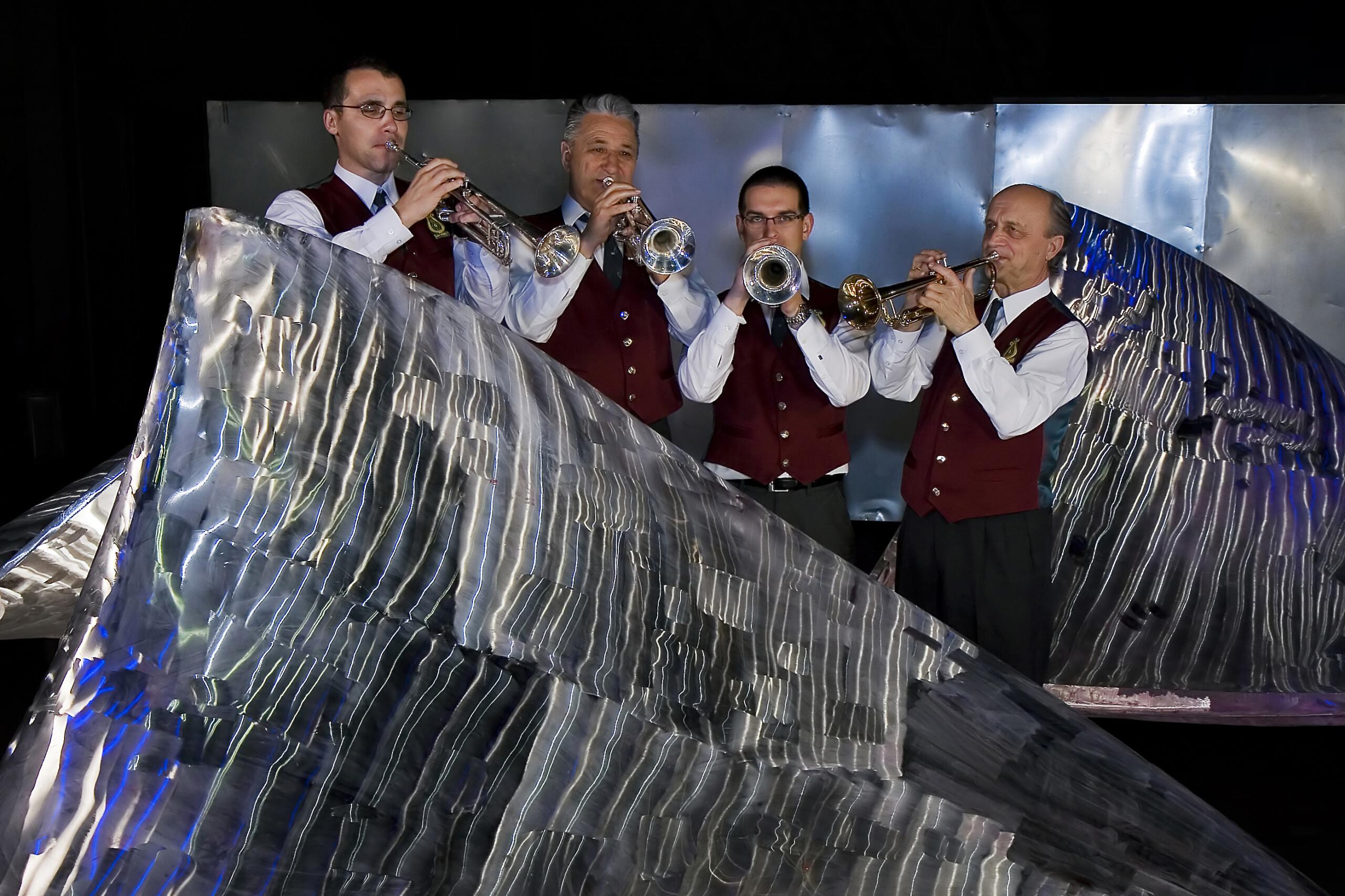 Sekcija trobent leta 2010