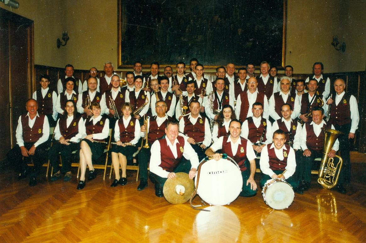 Pihalni okester Litostroj leta 1999